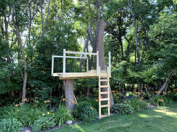 Starting of Treehouse Railing
