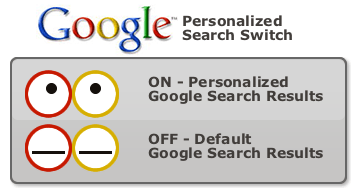 Google Personalized Search Switch