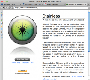 Stainless Web Browser