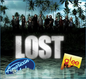 American Idol & Glee vs LOST