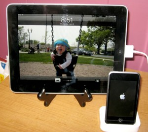 iPad Size vs iPod Touch