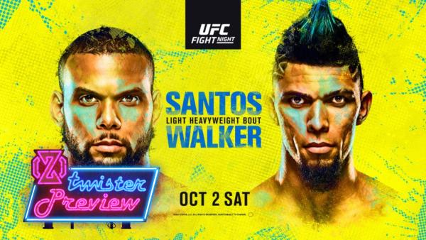 UFC ESPN santos vs walker