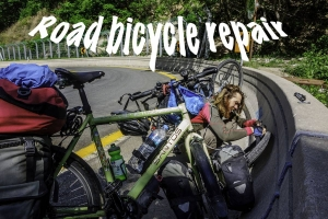 road bicycle repair