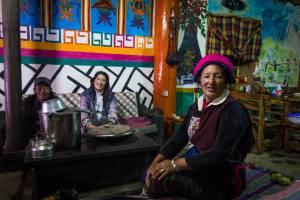 Homestay family Kham Tibetan