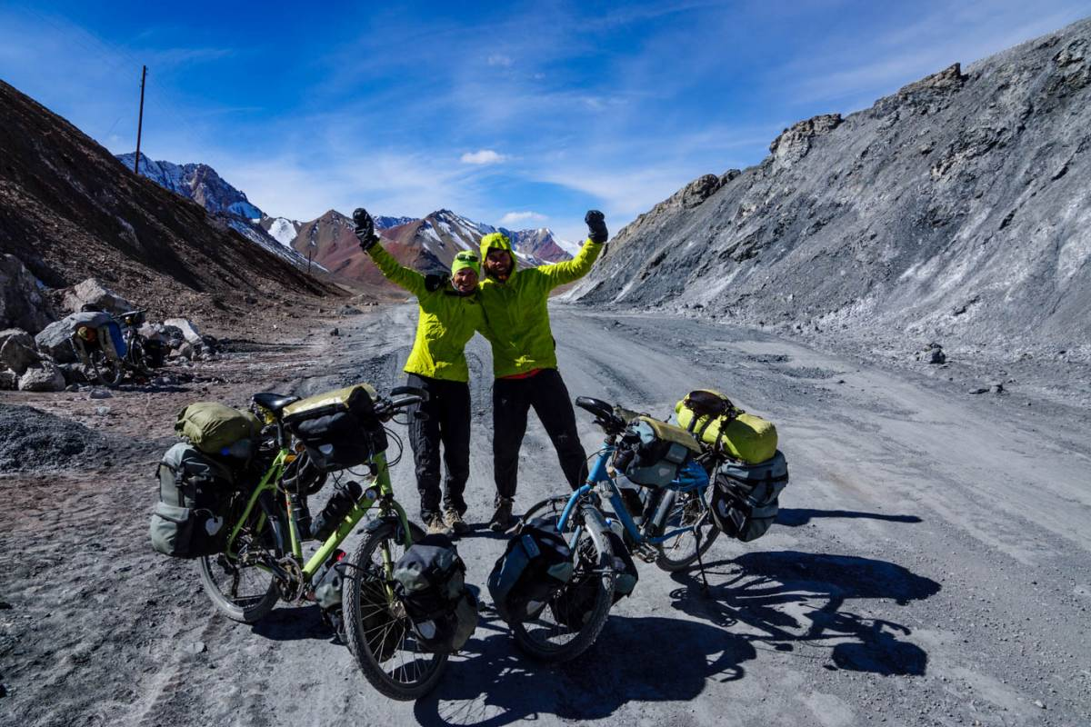 cycling the pamir highway M41