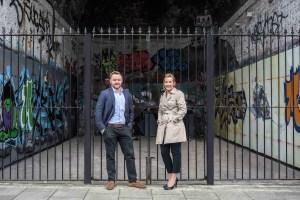 Chrissie Plunkett and Richard Shell of The Twist Group (Twist Marketing)