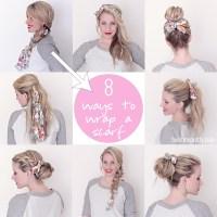 8 Ways to Wrap a Head Scarf - Twist Me Pretty