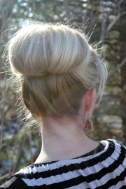 high bun - twist pretty