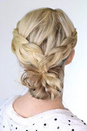 braided bun day 22 - twist