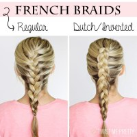 DIY | 4 basic braids - Twist Me Pretty