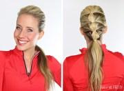 5 workout hairstyles - twist