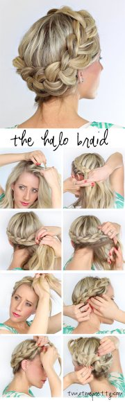 fat halo braid - twist pretty