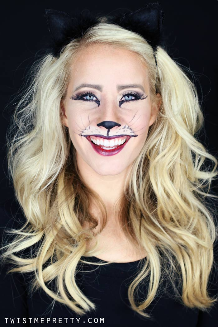 Free Fall Mums Wallpaper Easy Kitty Cat Or Leopard Makeup Tutorial Twist Me Pretty