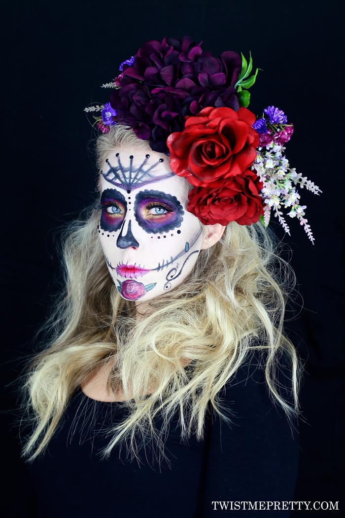 Images Of Cute Candy Wallpaper Sugar Skull Makeup Tutorial For Beginners Twist Me Pretty