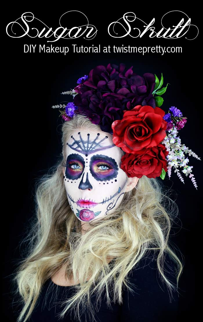 Fall Pictures Wallpaper Sugar Skull Makeup Tutorial For Beginners Twist Me Pretty