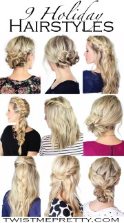 9 holiday hairstyles - twist