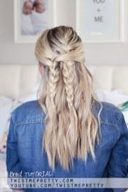 bohemian braid tutorial - easy