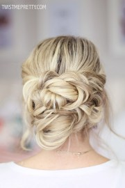 2 easy holiday hairstyles - twist