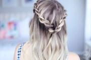 cute summer twists beach hairstyle