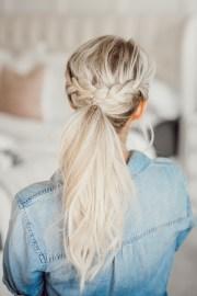 ponytail hairstyles spring