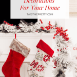 Beautiful Christmas Decorations Pinterest Graphic Twist Me