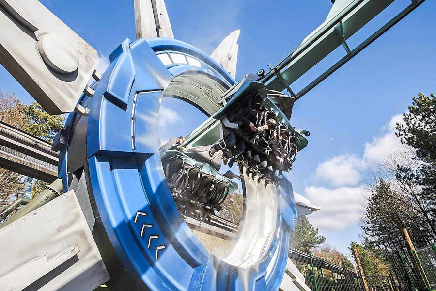 Image result for galactica alton towers review