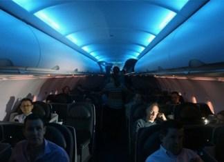 Aircraft take off or landing