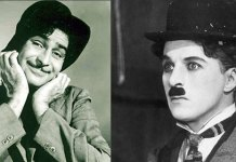 Charlie Chaplin and rajkapoor