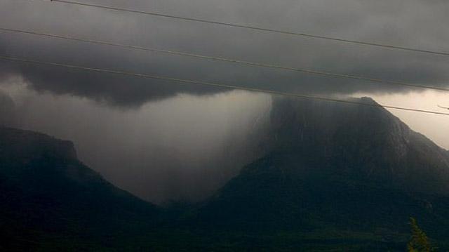 Cloudburst in yamunotri