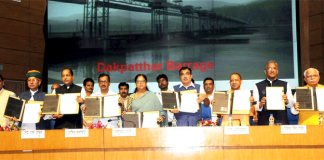 Chief ministers of six states signed MOU Lakhwad Project