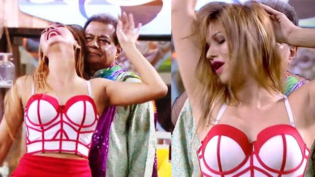 Jasleen Pole dance with Anup Jalota