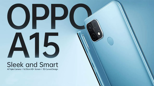 Oppo launched A-15