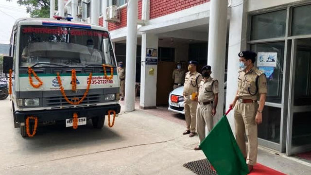 Doon Police launches accidental vehicle service