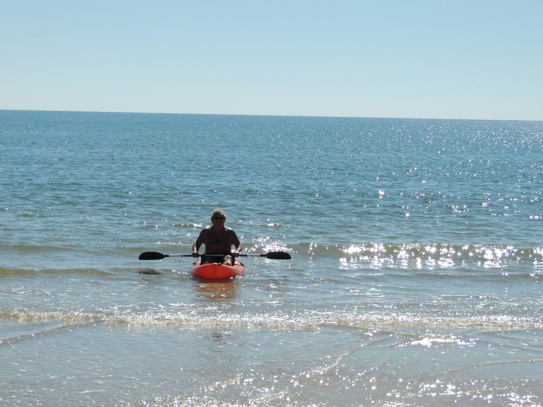 2 Ocean Kayaks with Paddles