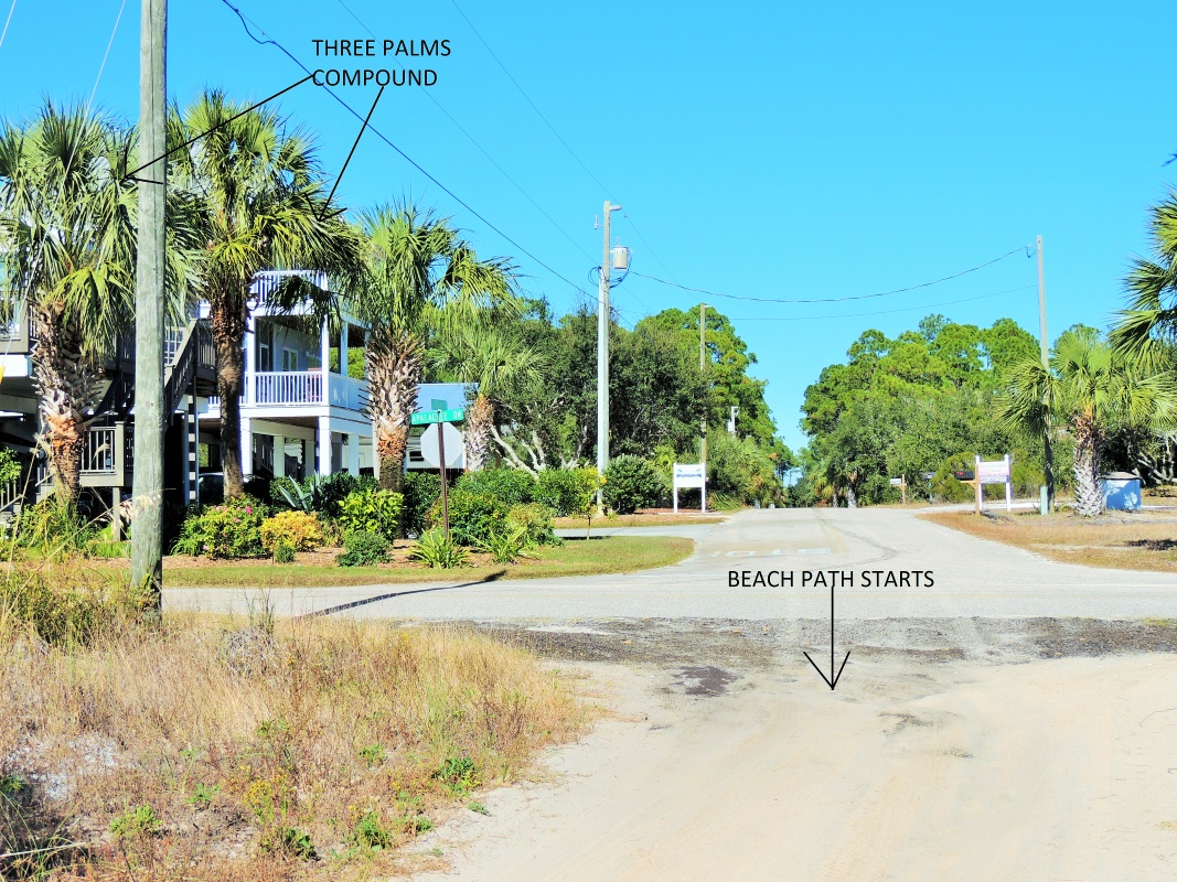Three Palms Beach Path-2