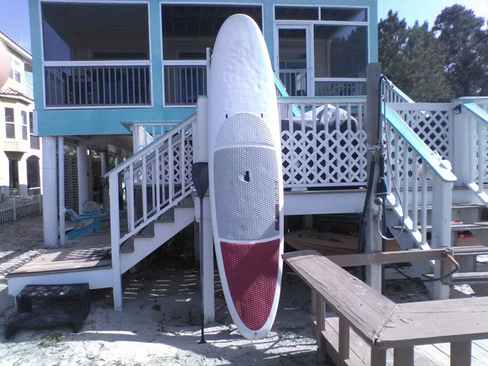 Stand Up Board with Paddle
