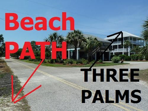 Less than 50 Yards From Driveway to Beach Path