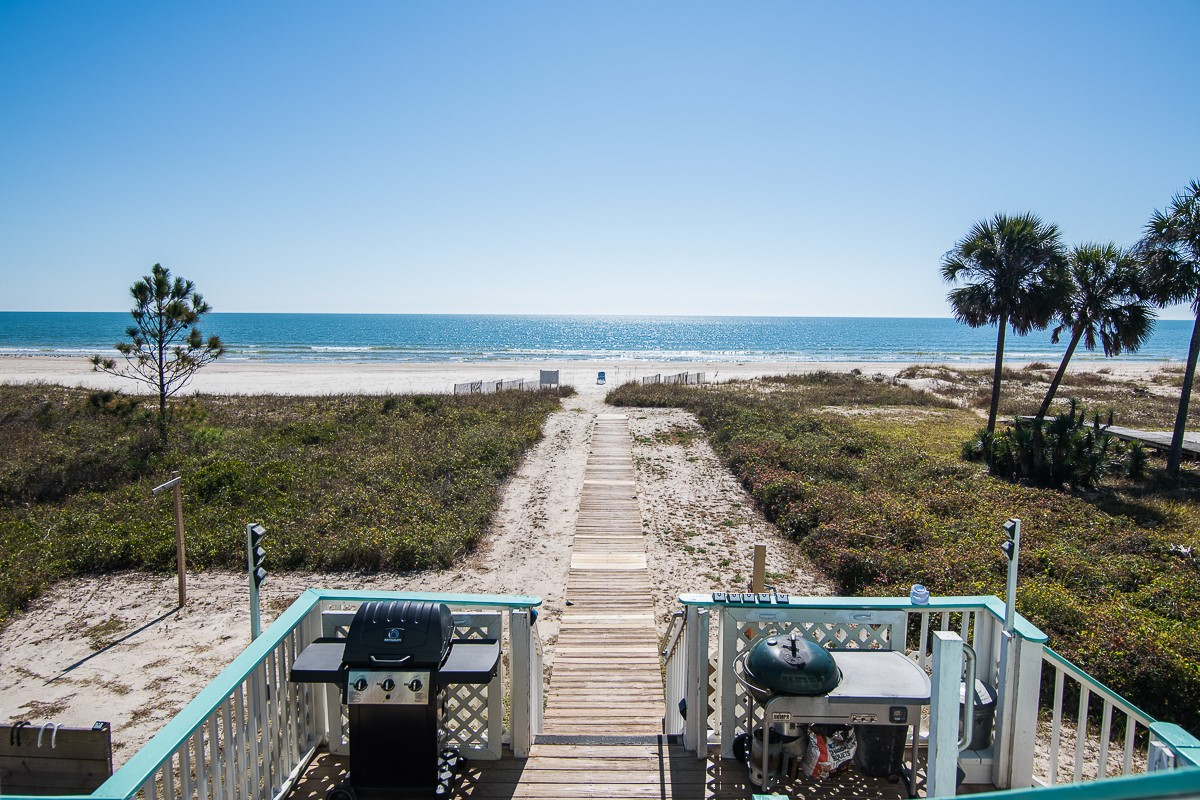 Unobstructed View of Beach and Gulf of Mexico- Lower Deck