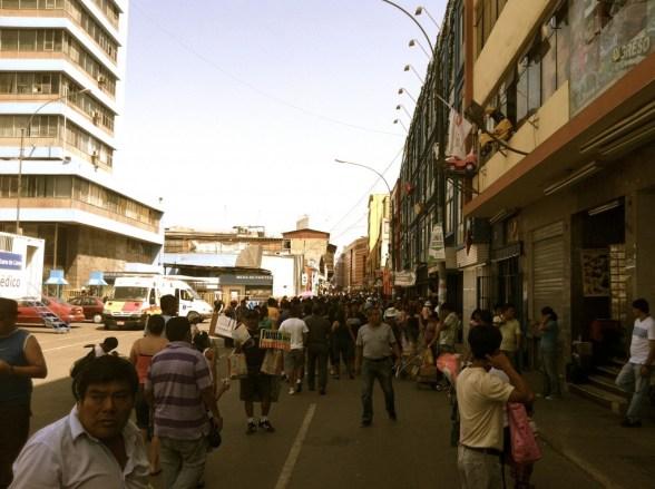 Market in Lima