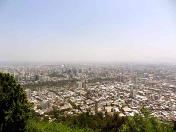 Smog of Santiago
