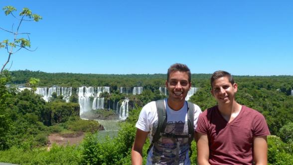 Brazil side of the falls