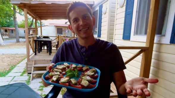 Auston's (mobile) home-made dinner