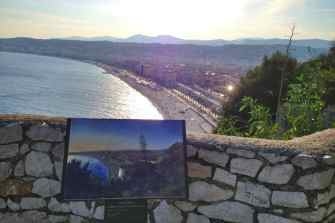 View of Nice from Castile Hill