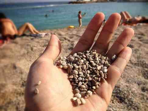 Course sand in Monaco