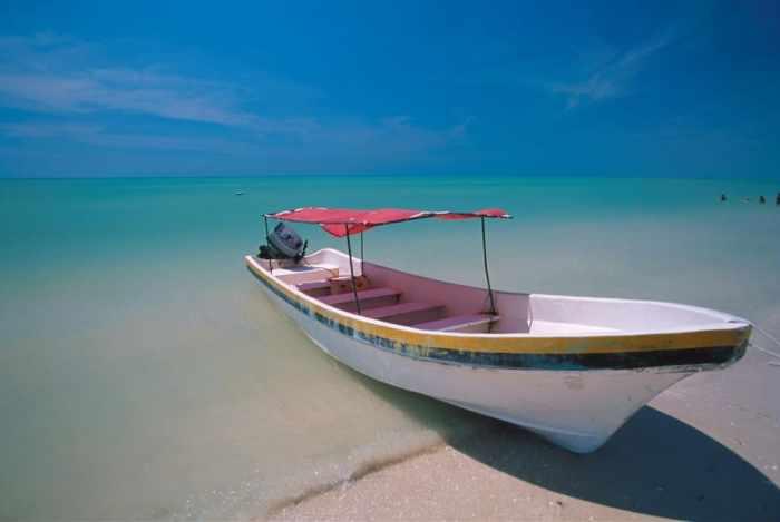 Cancun's Crystal Clear Beachs
