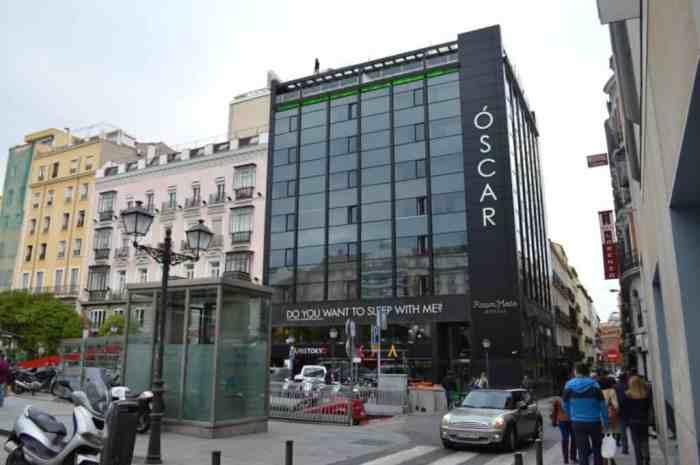 The Oscar Hotel in Chueca