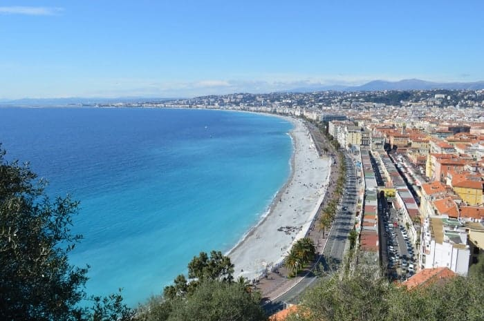 Nice France Waterfront