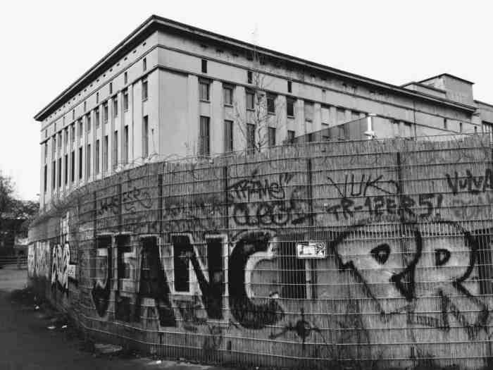 Berghain / Photo by James Dennes via Flickr/ CC BY
