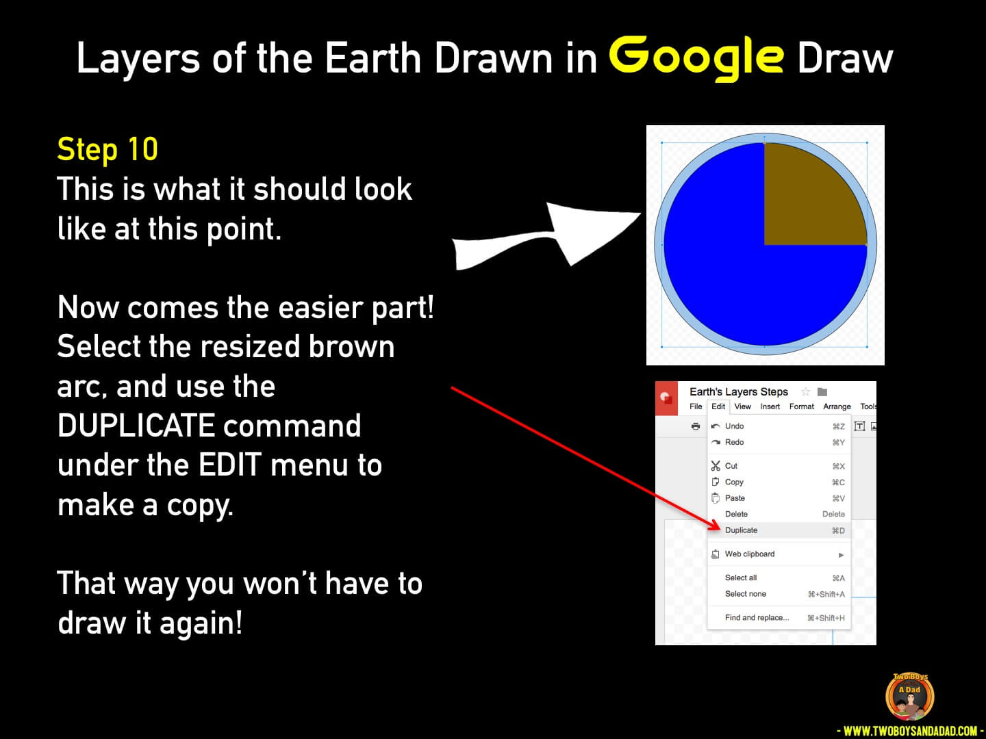 Use Google Draw in the classroom Step 10