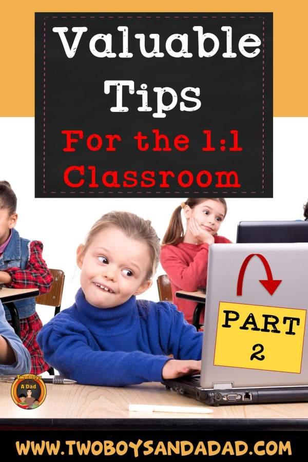 1:1 Classroom Tips